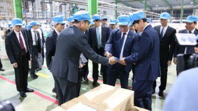 Provincial Governor of Kagoshima - Japan visited An Phat Bioplastics Joint Stock Company