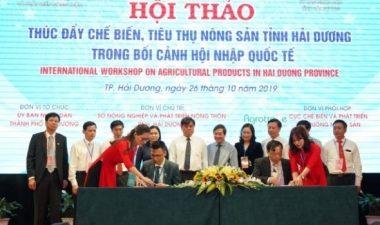 An Phát Holdings và tỉnh Hải Dương ký kết thỏa thuận hợp tác hỗ trợ thí điểm túi đựng rác hữu cơ