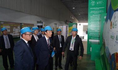 Thống đốc tỉnh Kagoshima – Nhật Bản thăm Công ty Cổ phần Nhựa An Phát Xanh