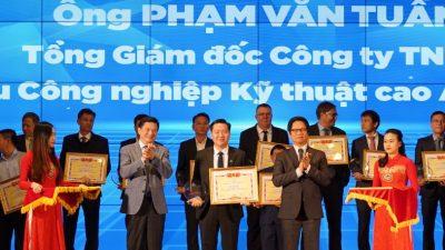Tổng giám đốc An Phát Complex nhận giải thưởng Doanh nhân tiêu biểu
