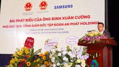 An Phát Holdings tiên phong phát triển nội địa hóa và công nghệ cao của tỉnh Hải Dương