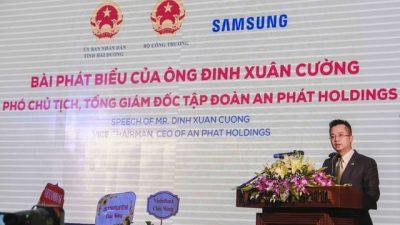 """Phó Chủ tịch, CEO An Phát Holdings: """"Câu chuyện Việt Nam không làm được bu-lông, ốc vít đã trở thành dĩ vãng với ngành công nghiệp hỗ trợ Việt Nam"""""""