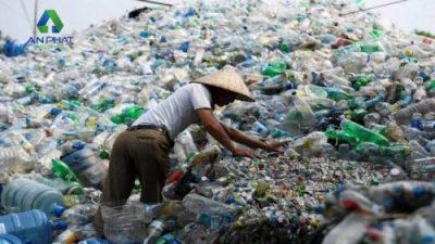 Chai nhựa chiếm phần lớn trong lượng rác thải nhựa hiện nay