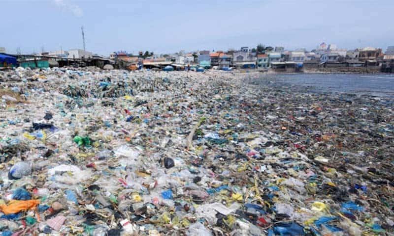 Tình trạng ô nhiễm rác thải nhựa đáng báo động