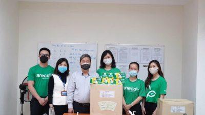 An Phát Holdings tặng cốc giấy sinh học phân hủy hoàn toàn cho khu cách ly Trúc Bạch (Hà Nội)