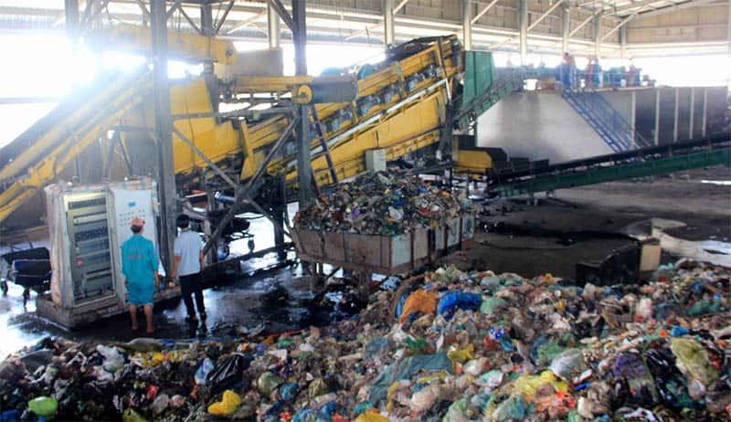 Hệ thống xử lý rác thải nhựa chưa hoàn thiện, hiệu quả kém cũng là nguyên nhân dẫn đến ô nhiễm rác thải nhựa. (Nguồn ảnh: Vietnamhoinhap)
