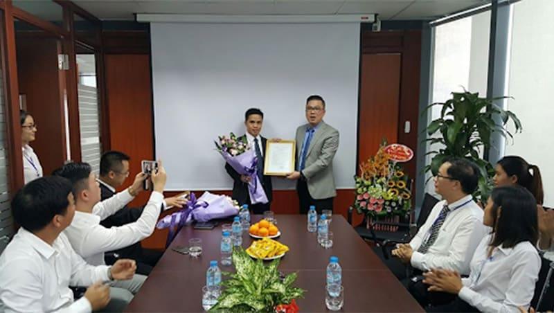 Lễ bổ nhiệm tổng giám đốc An Thành Bicsol
