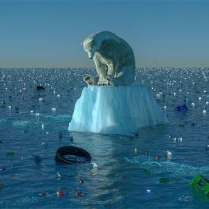 Ô nhiễm rác thải nhựa gây ra hiện tượng băng tan ở các địa cực