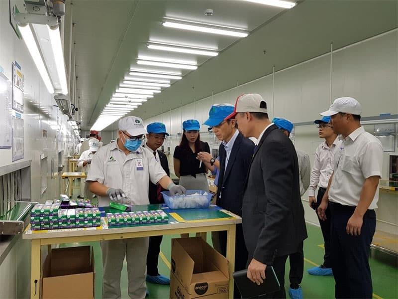 Buổi tham quan nhà máy sản xuất sản phẩm phân huỷ sinh học AnEco của An Trung Industries