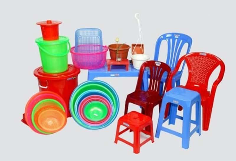 Các sản phẩm từ nhựa phủ sóng mọi mặt của đời sống hàng ngày