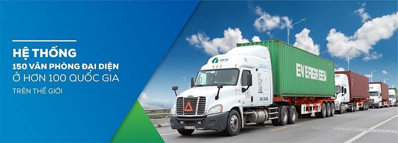 An Tín Logistics sở hữu mạng lưới kinh doanh rộng lớn trên thế giới