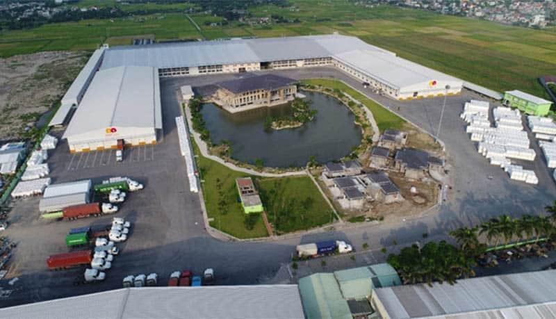 Hình ảnh nhà máy của Tập đoàn An Phát Holdings tại Hải Dương