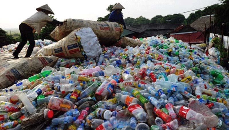 Số lượng rác thải nhựa Việt Nam thải ra chiếm tới 6% rác thải nhựa của toàn thế giới. (Nguồn ảnh: cambonomist)
