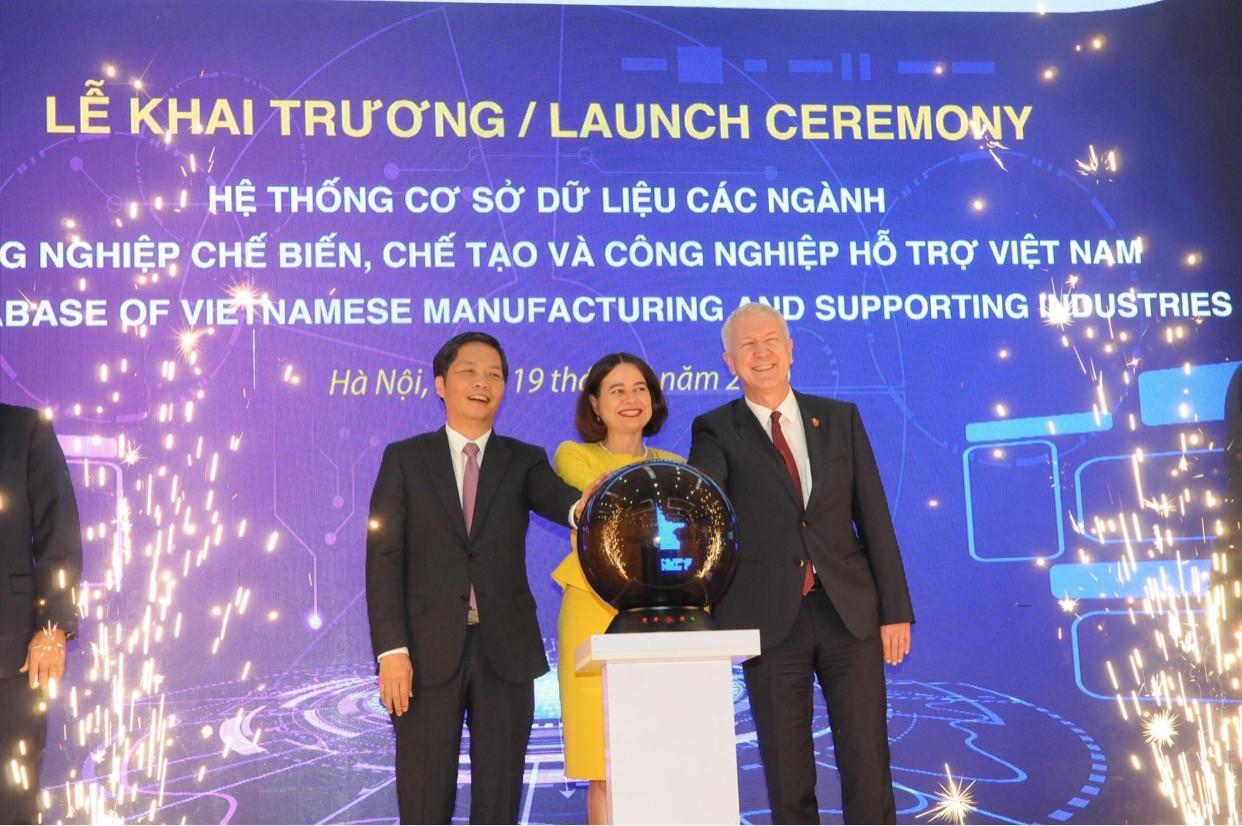 An Phát Holdings tham gia Lễ khai trương hệ thống cơ sở dữ liệu các ngành công nghiệp chế biến, chế tạo và công nghiệp hỗ trợ Việt Nam