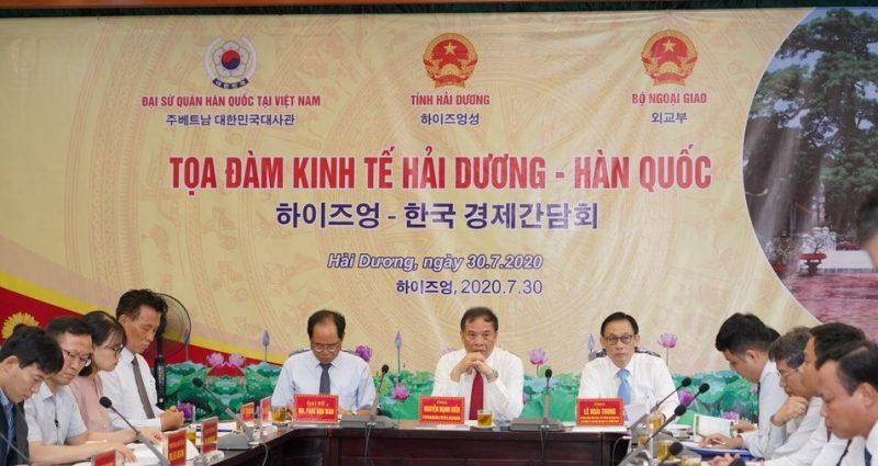 The Delegation of Hai Duong – Korea Economic Forum paid a visit to An Phat Bioplastics