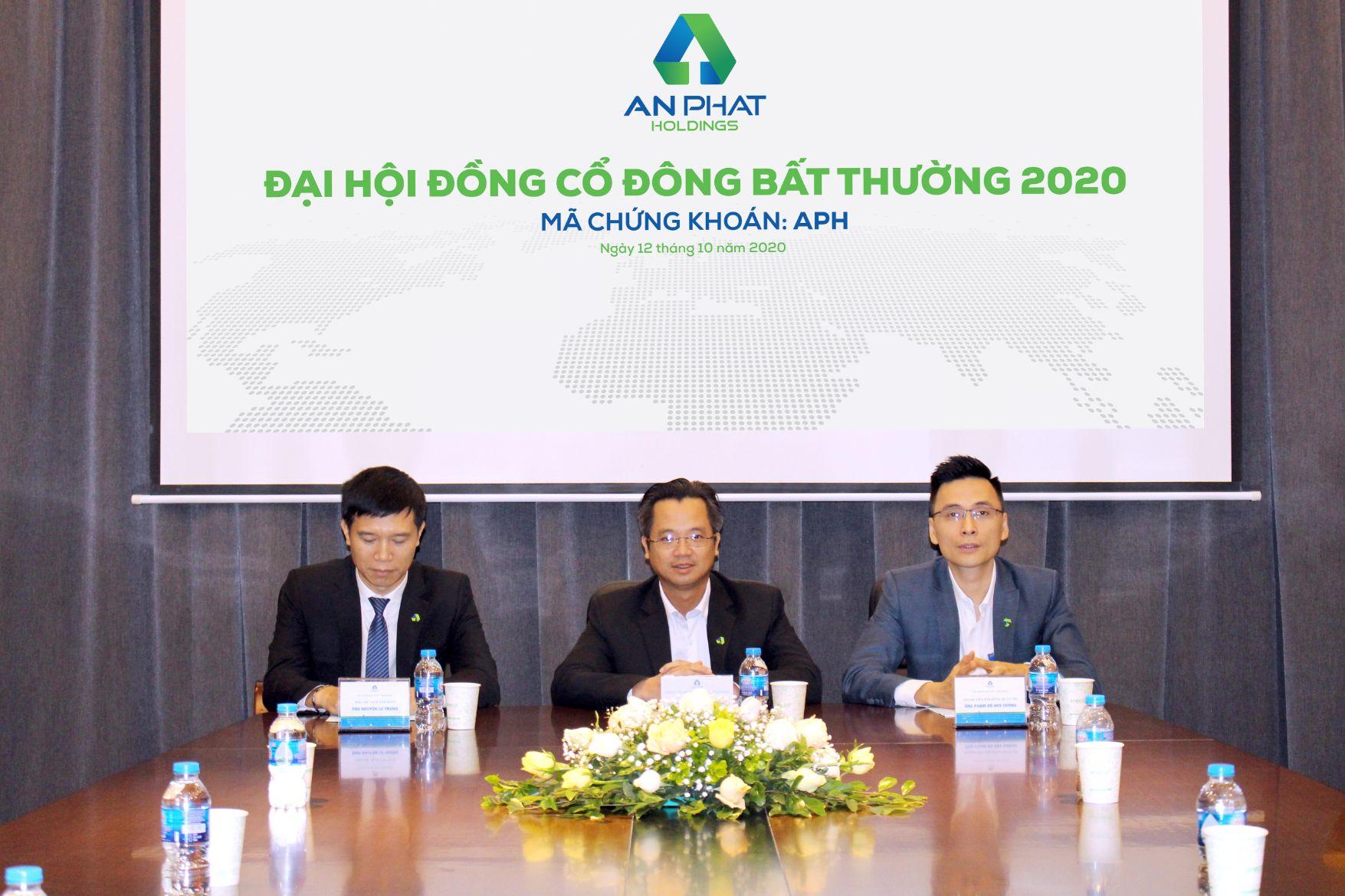 An Phát Holdings tổ chức thành công Đại hội đồng Cổ đông bất thường