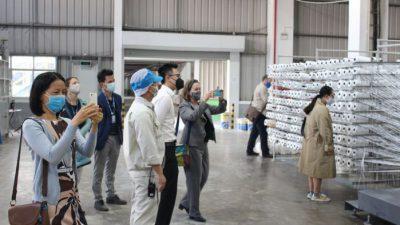 An Phát Holdings đón đoàn Lãnh đạo Trường Quốc tế UNIS thăm nhà máy