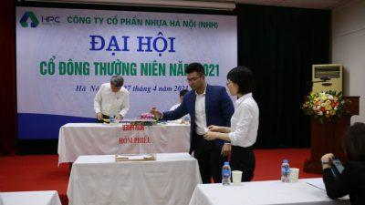 ĐHCĐ Công ty CP Nhựa Hà Nội đã thông qua doanh thu năm 2021-nhh