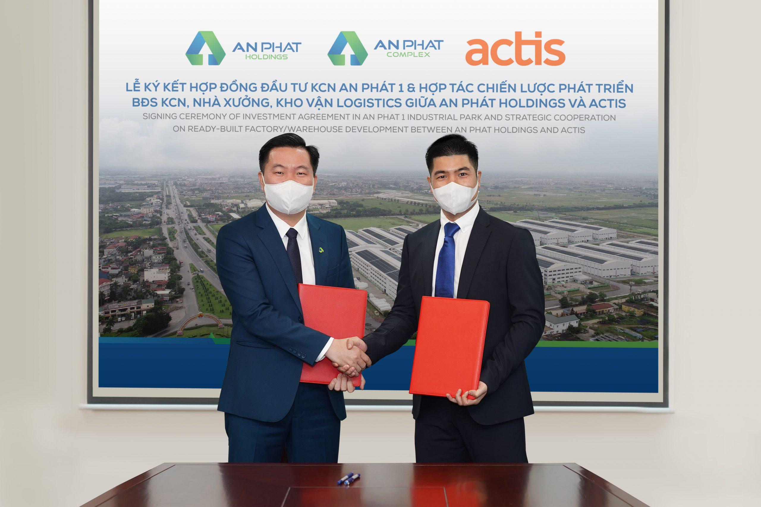 Quỹ đầu tư Anh Quốc Actis đầu tư hơn 20 triệu USD vào KCN An Phát 1 của An Phát Holdings