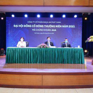 ĐHĐCĐ thường niên AAA năm 2021 được tổ chức ngày 29/6/2021