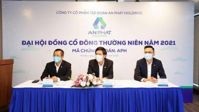ĐHĐCĐ An Phát Holdings 2021: Thông qua kế hoạch doanh thu 12.000 tỷ đồng, đẩy nhanh tiến độ triển khai dự án KCN An Phát 1 và nhà máy nguyên liệu xanh