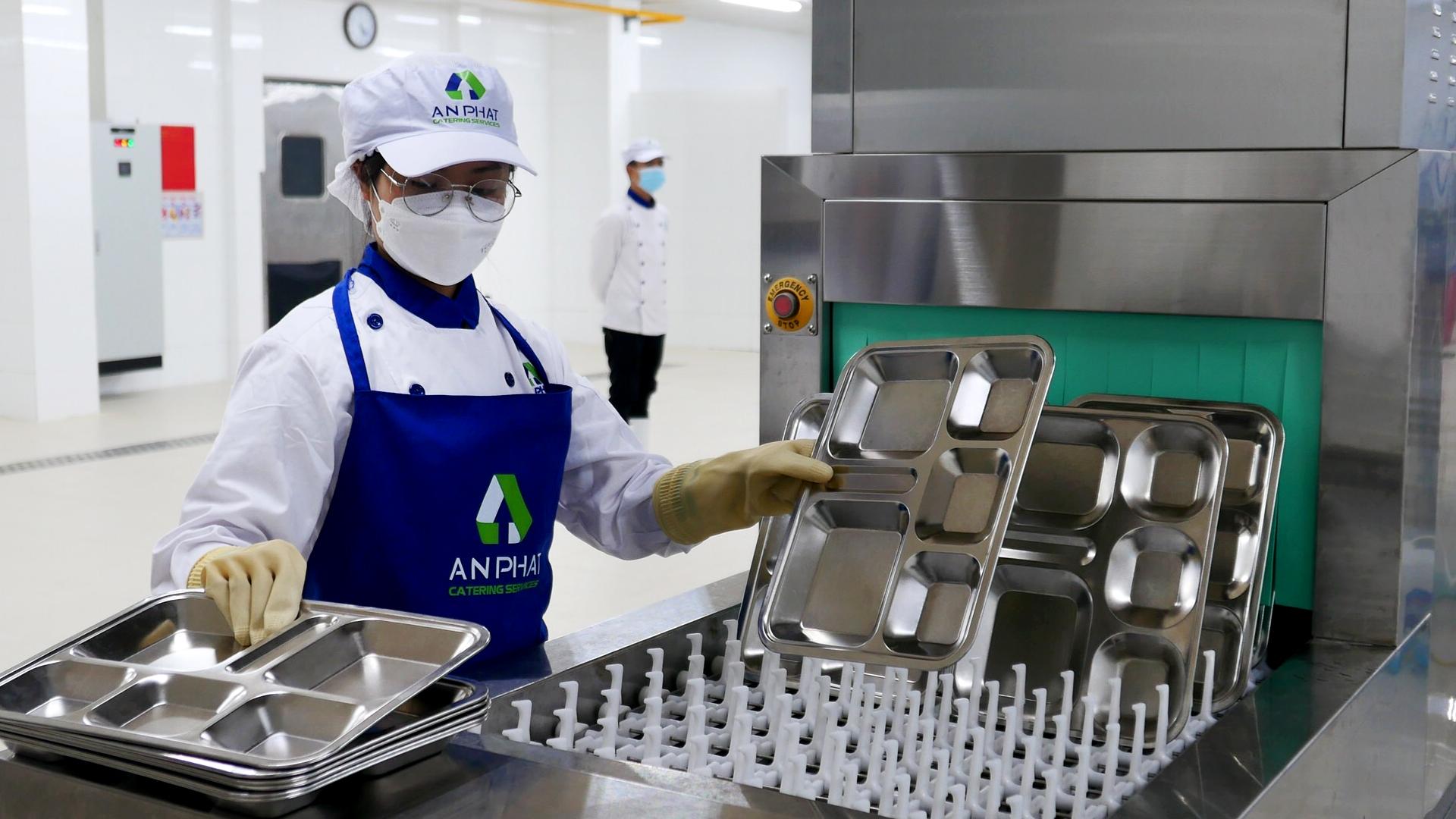 An Phát Holdings chính thức ra mắt dịch vụ suất ăn công nghiệp